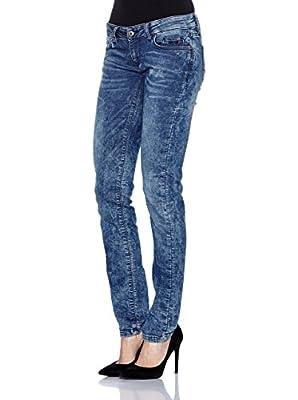 SEVEN7 Women's Jeans Azul Medio 10