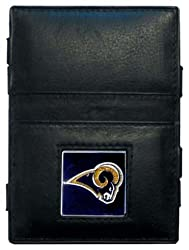 NFL St. Louis Rams Leather Jacob's Ladder Wallet