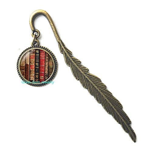 Segnalibri in stile antico, in stile shabby chic, segnalibro, per gioielli, libreria, regalo per amanti, Q0184
