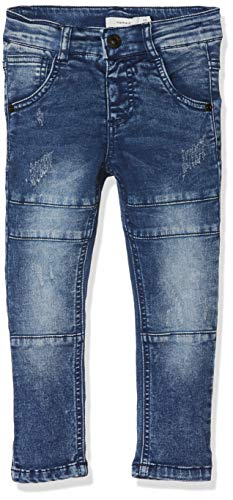 NAME IT Baby-Jungen Jeans NMMSILAS DNMTUBBER 2086 Pant Blau Medium Blue Denim, 80