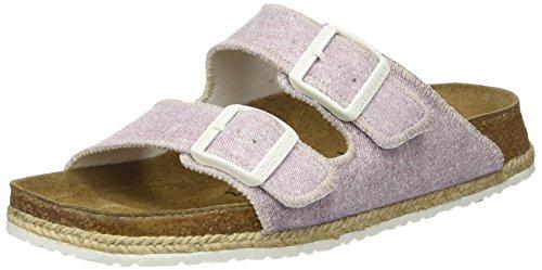 Papillio Damen Arizona Birko-Flor Pantoletten Violett (Beach Purple)