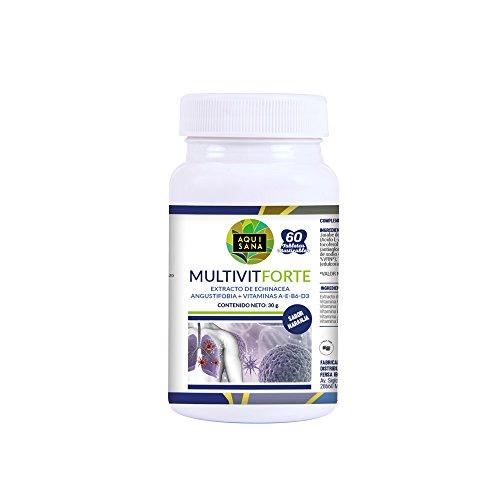 Complejo multivitamínico con vitamina C