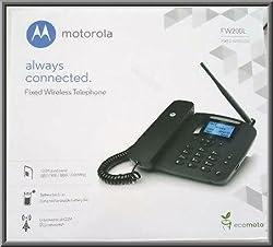 MOTOROLA FIXED WIRELESS PHONE FW 200 L BLACK