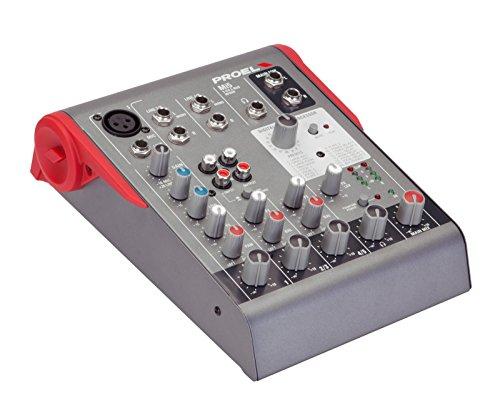 Proel Mi5 - Mixer Professionale ultracompatto a 5 Canali e 2 Bus con Effetti Digitali (Mi5)