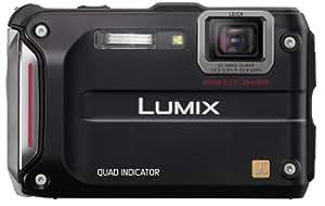 Panasonic DMC-FT4EB-K Rugged Compact Camera - Black (12.1MP, 4.6x Optical Zoom) 2.7 inch LCD