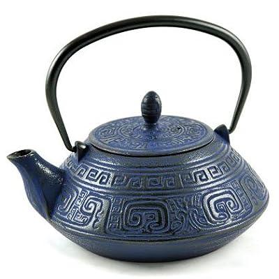 Théière en fonte Nanyang 1.2L bleu nuit - MAOCI