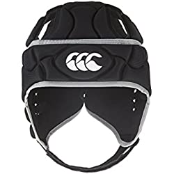 CAnterbury Boy's Club Plus - Protector para cabeza negro negro Talla:mediano