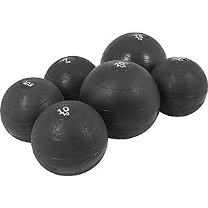GORILLA SPORTS Slamball Gummi Medizinball Fitnessball Trainingsball No Bounce...