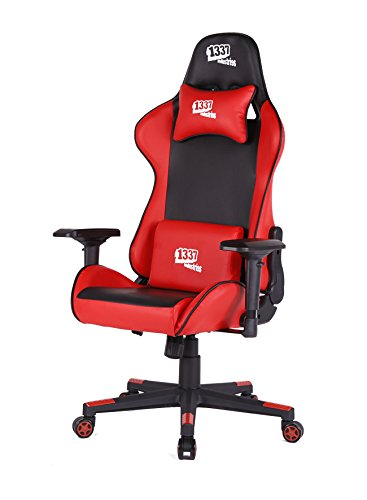 1337 Industries 2454140031 – Silla gaming 1337 gc780/br roja