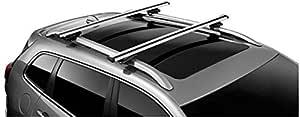 Fca Dachträger Jeep Renegade Cherokee Fahrzeuge Mit Längsstangen Der Serie Ktrab4553 Auto