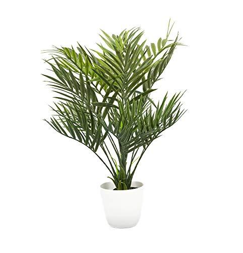 artfleur - künstliche Ölpalme 40 cm Topfpflanze Kunstpflanze Grünpflanze