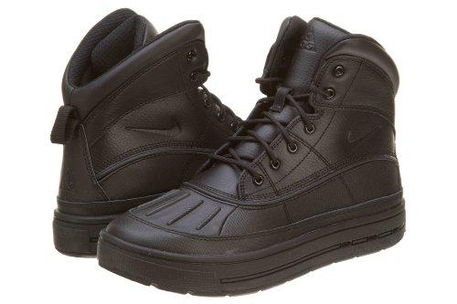 Nike Boy'S Woodsidehigh Bottes de neige Distance Sport Entraîneur Chaussures Black/black