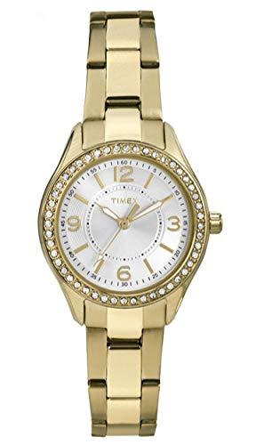 Timex Orologio Analogico Quarzo Donna con Cinturino in Acciaio Inox TW2P80100