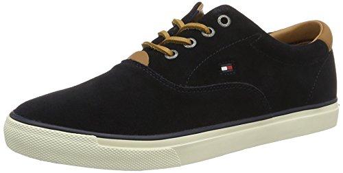 Tommy Hilfiger Herren W2285ILKES 2B Sneakers, Blau (Midnight 403), 40 EU
