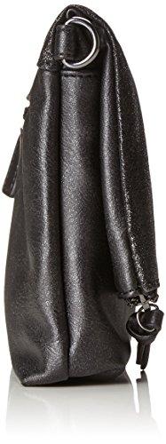 Gabor Damen Leila Umhängetasche, 3.5x18x27 cm Schwarz (Black)