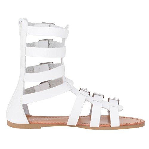 Ital - 25–b41562, sandales Weiß