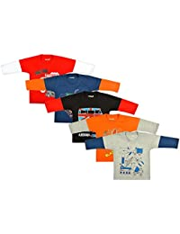 Kuchipoo Unisex Cotton Combo Of 5 Full Sleeve T-Shirts