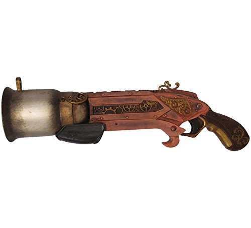 My Other Me Pistola Trabuco Steampunk de 32 cm