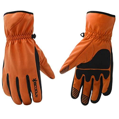 (Yahuyaka Winter Ski Handschuhe Wandern im Freien Wasserdichte Isolierung Winddicht Rutschfest Abriebfest schnell trocknend Sport Lange Finger Handschuhe (Color : 1, Size : L))