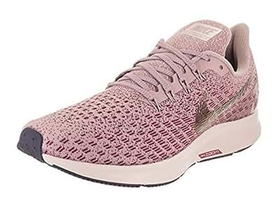 NIKE Women's Air Zoom Pegasus 35 Trail Running Shoes, Rosa (Elemental Barely Rose/Vin 601), 4 UK