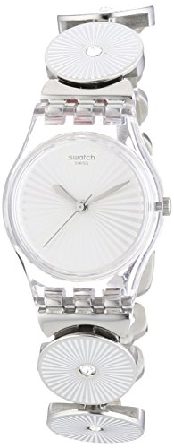 Swatch Reloj de cuarzo Woman Disco Lady 25 mm