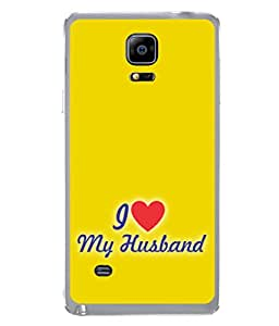 PrintVisa Romantic Wife High Gloss Designer Back Case Cover for Samsung Galaxy Note Edge :: Samsung Galaxy Note Edge N915Fy N915A N915T N915K/N915L/N915S N915G N915D