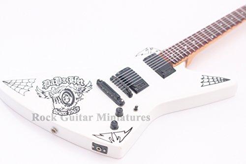 rgm124Metallica James Hetfield Papa Het Miniatur-Gitarre Mini Gitarre Rock Guitar Miniatures Metallica James Hatfield Lars Ulrich Kirk Hammett Black Label Society die Trujillo Trio Metallica durch die Never Außerhalb magnetisch