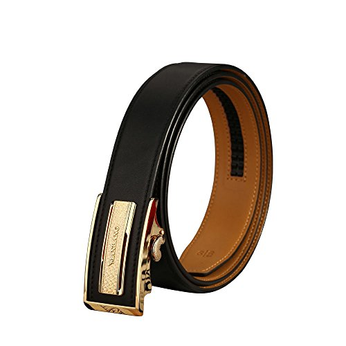MANBANG - Cinturón - para hombre dorado dorado Medium
