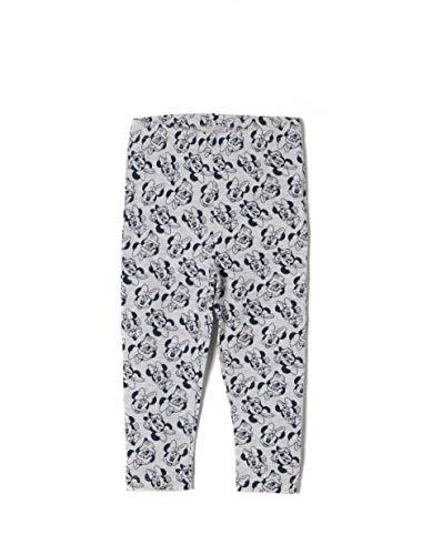 ZIPPY Baby-Mädchen Legging Ztg04l10_455_1, Grau (Light Grey Melange 1068), 74 (Herstellergröße: 6/9M)