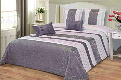 mercatohouse – Couvre-lit bouti Comforter Premium Jacquard 200gr – Anais (lit – 150)