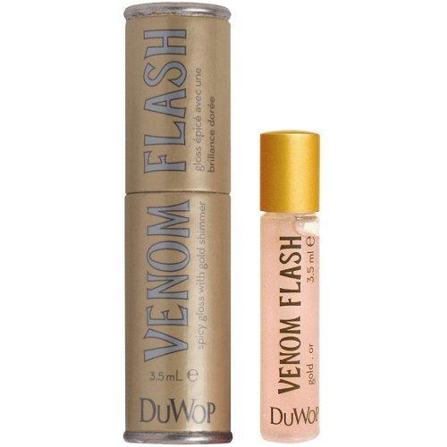 DuWop Cosmetics Lip Venom Lip Plumping Balm - Flash Warm (Gold) by DuWop Cosmetics - Venom Flash