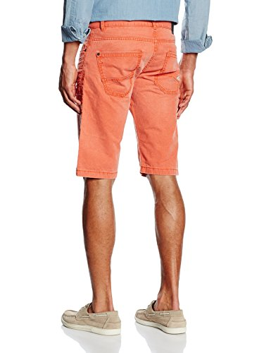 edc by ESPRIT Herren Shorts Orange (630)