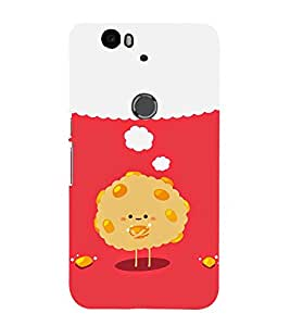 99Sublimation Funny Face theme 3D Hard Polycarbonate Back Case Cover for Huawei Nexus 6P :: Huawei Google