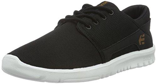 Etnies Unisex-Kinder Scout Sneaker, Rot Schwarz (979 , Black/white/gum)