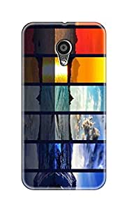 SWAG my CASE PRINTED BACK COVER FOR MOTOROLA MOTO G2 Multicolor