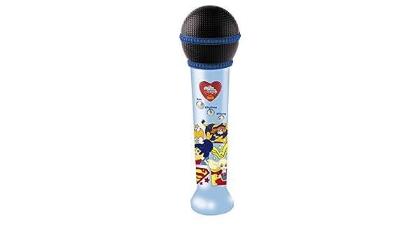IMC DC Supereroe Ragazze registrazione microfono