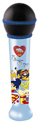 IMC - 465015 - Microphone Enregistreur DC Super Hero Girls - Disney