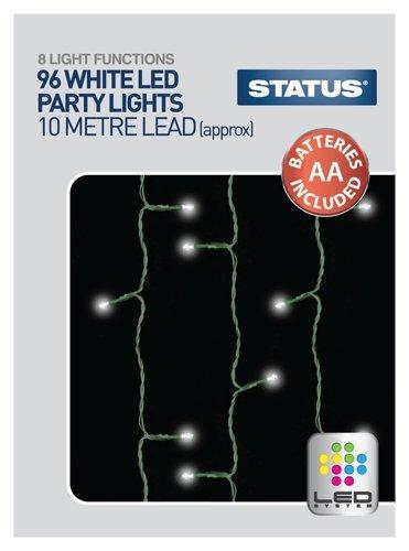 Status spl96l1pkb396LED Party Kunststoff Lichter, weiß