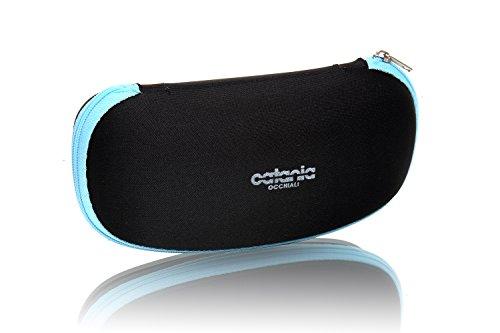 Catania occhiali custodia - uomo e donna - per proteggere e trasportare gli occhiali da sole durante gli spostamenti quotidiani.