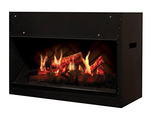 DIMPLEX OPTI-V Cassette OPTI-V Single Built-in Fireplace Eléctrico Negro Interior - Chimenea...