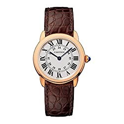 Cartier Mujer 28 mm marr n...