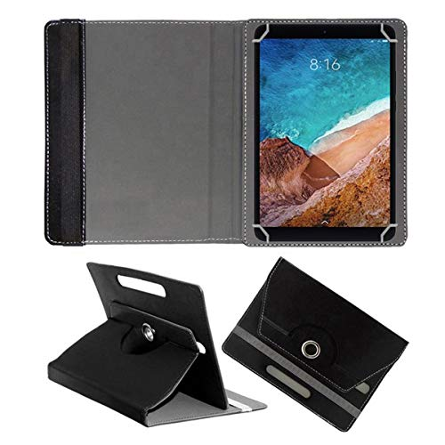 "Fastway Rotating Leather Flip Case for XIAOMI MI PAD 4 Plus 10.1"" Tablet Cover Stand Black"