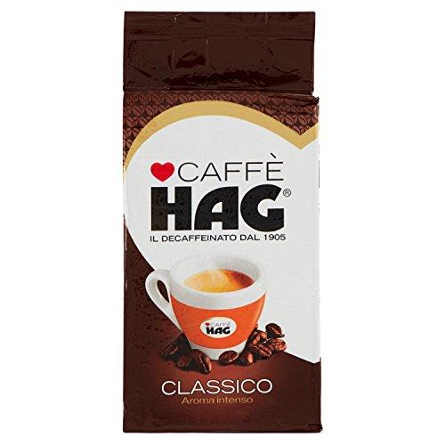 Hag Caffè Decaffeinato Macinato Classico - 250 g