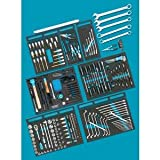 Hazet Werkzeug-Sortiment 0-2500-163/214 Werkzeug-Set