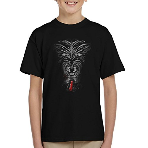 Little Red Riding Hood Big Bad Wolf Kid's T-Shirt Little Red Riding Hood-big Bad Wolf