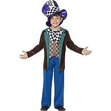 Boys Deluxe Hatter Sombrerero Loco Alicia En El País De Las Maravillas Lewis Carrol libro Día Disfraz de fiesta para muñeca