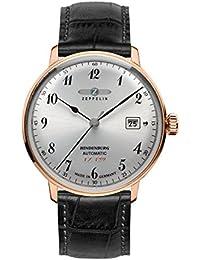 Zeppelin Unisex-Armbanduhr Chronograph Quarz Leder 7068-1