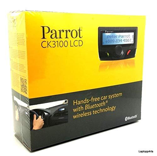 `Parrot CK3100 LCD - Manos libres Bluetooth para móvil, conexión inalámbrica, compatible con iOS & Android color negro