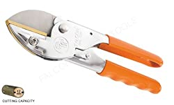 Falcon Pruning Secateurs - Super(Total Length 200 MM,Steel Handle with PVC grip)