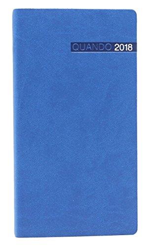Agenda Settimanale Tascabile Blu 8x15 Quando